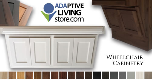 ADA Wheelchair Vanity Cabinet
